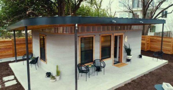 3D printed homes