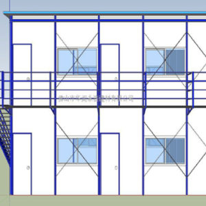 zimbabwe prefabricated house drawing
