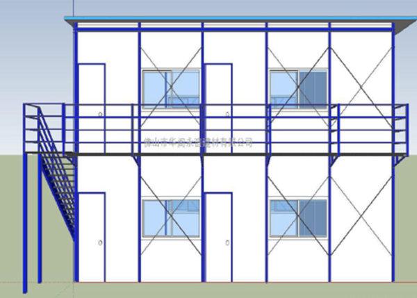 zimbabwe prefabricated house drawing