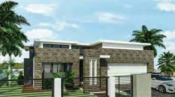 prefab house rendering